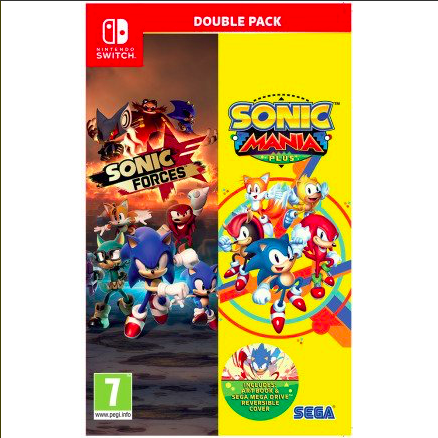 Sonic Forces And Mania Double Pack Nintendo Switch Green Grove Zone Ssmb